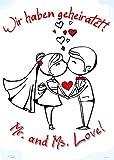 Plakat zur Hochzeit