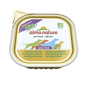 Almo Nature Bio Pate Chicken & Broccoli Dog Food 300G X 9 by Monster Pet Supplies