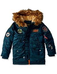 Alpha Industries Little Boys' Maverick Flight Jacket