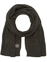JACK & JONES VINTAGE Herren Strickschal Jjvcable Knitted Scarf 12113795