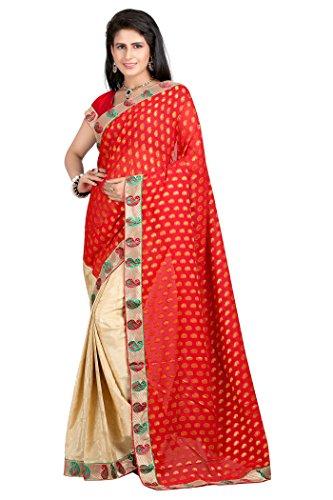 Sarees For Women ( Vibes Women`s Bhagalpuri Art Silk Saree