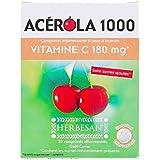 HERBESAN Acérola 1000 - Effervescent Vitamine C 180 mg - 30 comprimés