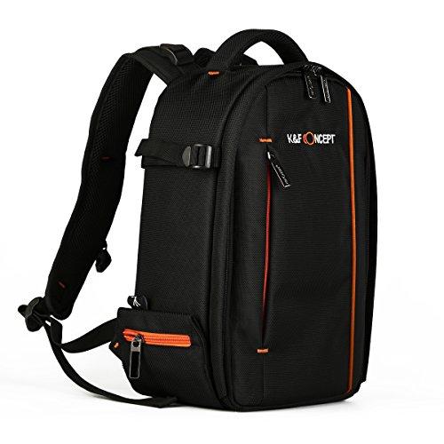 K&F Concept Rucksack Kamera Fotorucksack Kameratasche für SLR-Kameras 38*25*15cm mit Stativhalterung