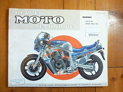 RRMTHS004.1 REVUE TECHNIQUE MOTO SUZUKI GSX-R 750