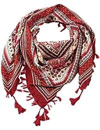 07b6293cfaa Malloom Tassel Écharpe Femmes De Mode Rétro Boho Imprimé Carré Foulards  Femme Wraps Fille Châles Écharpe