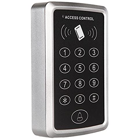 UHPPOTE 125KHz 1 Door Proximity RFID Card Access Control Keypad Support 1000 Users