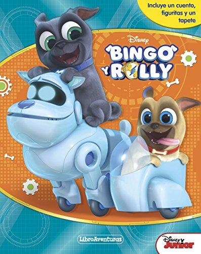 Bingo y Rolly. Libroaventuras: Incluye un cuento, figuritas y un tapete (Disney. Bingo y Rolly) por Disney