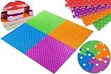 4 tlg Puzzlematte Kinderteppich Spielteppich Schaumstoffmatte Spielmatte KP4217 Puzzlematte Spielmatte Spielteppich 4 tlg Kinderteppich KP4217 Matte Schutzmatte Spielteppich Schaumstoff Puzzle Kinderteppich