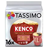 Tassimo Kenco Americano Grande Coffee Pods (Pack of 5, 80 pods in total, 80 servings)