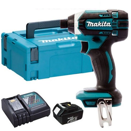 Makita DTD152Z 18V Li-ion Cordless Impact Driver With BL1830 Battery, DC18RC Charger & Case