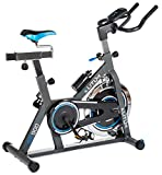Elitum Indoor Cycle Indoorcycling mit Pulsmessung Fitnessbike Speed Bike...
