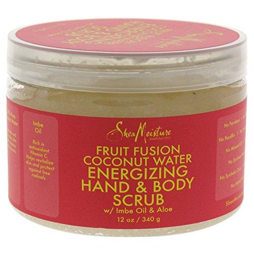 Fruit Fusion Coconut Water Energizing Hand & Body Scrub by Shea Moisture (Energizing Fruit)