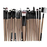 Beauty-Werkzeuge,Daysing Schminkpinsel Kosmetikpinsel Pinselset Rougepinsel Augenbrauenpinsel Puderpinsel Lidschattenpinsel 22 Stück Make-up Pinsel-Sets
