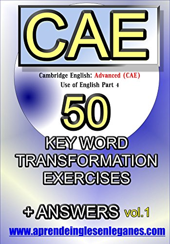 Cae Word Formation Exercises