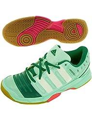 promo code 40a10 6dcf9 adidas - Chaussures Handball Court Stabil 11 W Vert M17490
