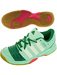 promo code 210b7 81dcf adidas - Chaussures Handball Court Stabil 11 W Vert M17490
