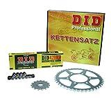 Kettensatz / Kettenkit Yamaha YBR 125, 2007-2013, Typ RE05, DID (Standard) verstärkt