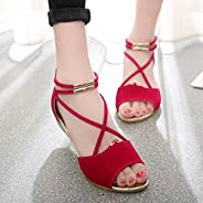 Fashion summer new flat sandals Roman style Korean shoes SH13