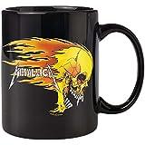 Kaffeetasse-Flaming Skull