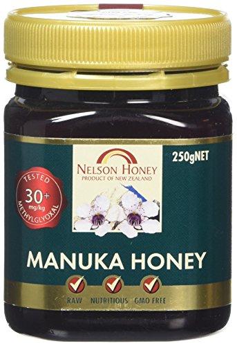 Price comparison product image Nelson Honey Manuka Honey 30miligram/kg of methylglyoxal 250 Grams