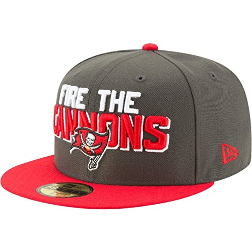 Nfl Shop Buccaneers (New Era 59Fifty Cap - NFL 2018 DRAFT Tampa Bay Buccaneers)