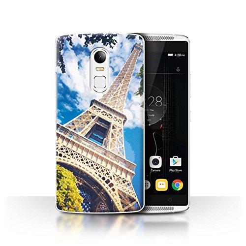 Stuff4® Hülle/Case für Lenovo Vibe X3 / Eiffelturm Muster/Schöne Weltkunst Kollektion