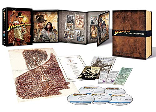 Indiana Jones: The Complete Adventure (Box Set) (5 Blu Ray)