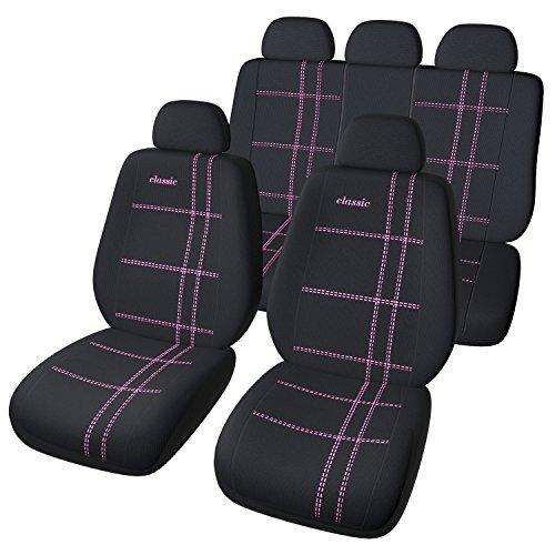 Auto Universal Sitzbezug Set in Pink / Sitzbezüge / Sitzschoner / Schonbezüge