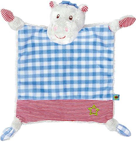Spiegelburg Serie Baby Glück Hipp, hipp, hippo! Nilpferd (Schnuffeltuch Hippo)