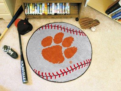 Fanmats 3720 Clemson University Baseball Rug Clemson University Baseball