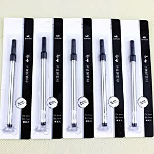 Belle Jinhao encre noire Stylo recharge spirale 0,7 Recharge pour stylo à 10 recharges