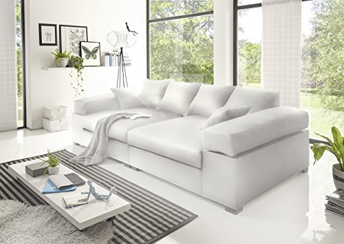 BIG Sofa- Weiss – Modell Hercules