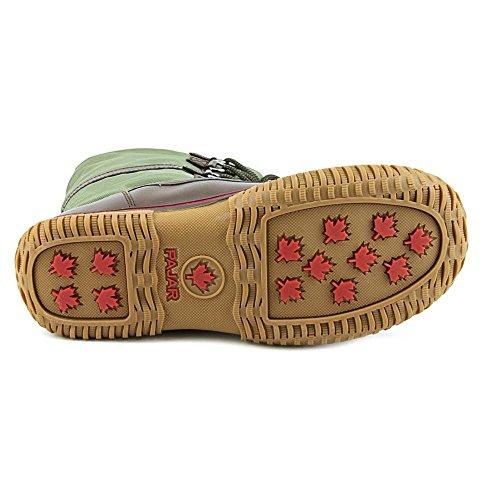 Pajar Grip Low, Boots femme verde militare marrone
