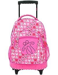 Totto MA03ECO006-1710P-1I3 Ecole Mochila infantil, 52 cm, Rosa