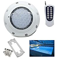 YIYIBY 36W Submersible Underwater Light RGB Waterproof Lights Pond Lighting with Remote Control for Aquarium Bathtub Swimming Pool Pond Decoration