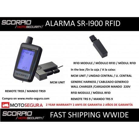 Alarma Scorpio SR-i900 - 2 vias RFID