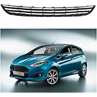 1PCS griglia paraurti anteriore inferiore Center W/Chrome Trim for Ford Fiesta 2013 – 2015