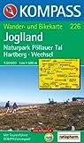 Joglland 1 : 50 000: Wander- und Bikekarte. Naturpark Pöllauer Tal, Hartberg, Wechsel. GPS-genau