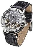 Carl von Zeyten Herren Analog Automatik Uhr mit Leder Armband CVZ0017SGY