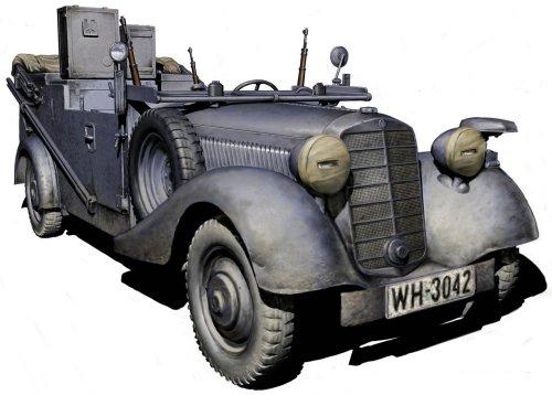 Master Box MB3531 - 1/35 Kraftfahrzeug 2 Type 170 VK Radio Car Master Radio