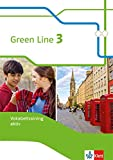 Green Line 3: Vokabeltraining aktiv, Arbeitsheft Klasse 7 (Green Line. Bundesausgabe ab 2014)