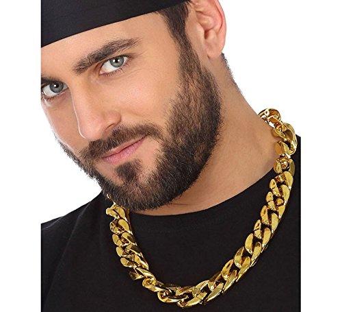 Atosa Collar de Rapero Imitación Oro