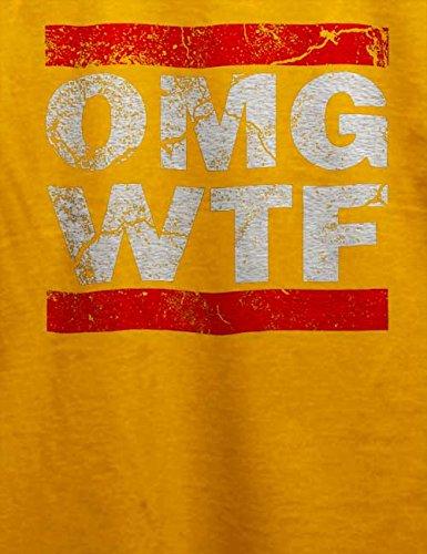 Omg Wtf T-Shirt Gelb