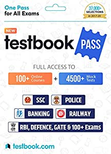 Testbook.com Pass - 1 Year Subscription (Email Delivery in 2 Hours - No CD)