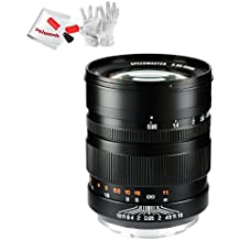 Zhongyi Mitakon 50mm f/0.95 Manual Fixed Lens 10 elements/7 Groups for Sony Full Frame E-Mount Cameras Standard-Prime Lens with Pergear Cleaning Kit