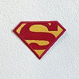 Superman-S (Motiv-Aufnäher, bestickt