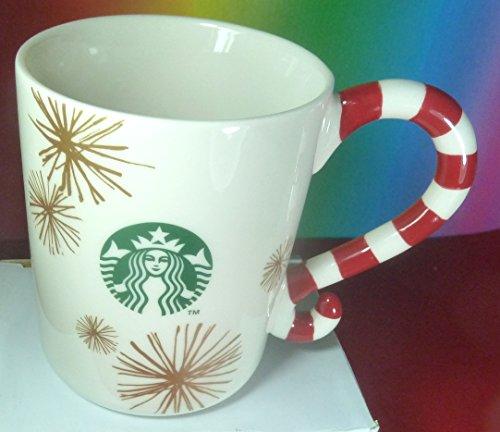 (Starbucks Weihnachten Christmas 12oz Candy Cane Mug 2015 Xmas Tasse Weihnachten)