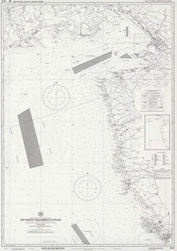 Istituto Idrografico Della Marina IIM 39/D Carta Nautica Didattica per Patente Nautica 39/D