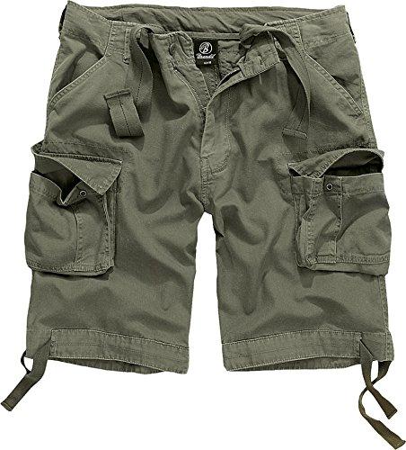 Brandit Herren Urban Legend Shorts, Grün (Olive 1), 58 (Herstellergröße: XL) -