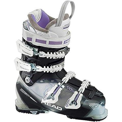 Botas de esquí para mujer adapt edge 90X - Talla:25